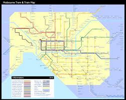 melbourne tram map melbourne transit map inkscapeforum com