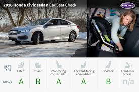 honda civic latch 2016 honda civic sedan car seat check cars com