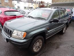 cherokee jeep 2001 2001 jeep grand cherokee 2 7 crd limited station wagon 4x4 5dr