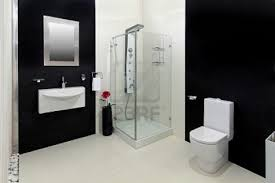 Designer Bathroom Wallpaper by Best 14 Bathroom With Black Tiles On Black And White Tile Bathroom