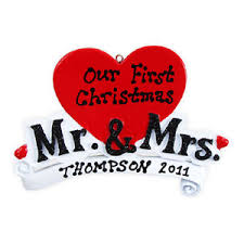 wedding ornament mr and mrs 235 or821 659839763121
