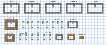 wondrous ideas 5 minecraft houses blueprints castle minecraft
