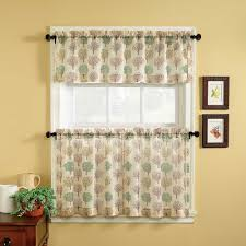 contemporary kitchen curtains and valances kass us curtain