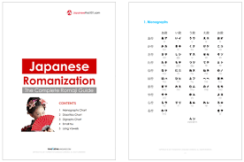 the complete guide to japanese romaji japanesepod101