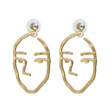 human earrings vintage human earrings for women bijoux 2017 fashion