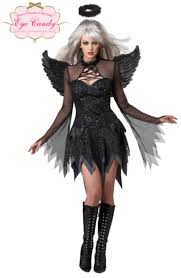 dark fallen angel costume all ladies halloween costumes mega