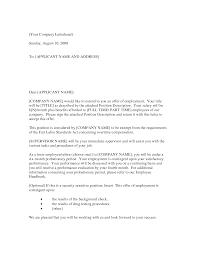 best photos of employment offer letter sample job offer letter