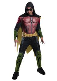 harley quinn arkham city halloween costume men u0027s robin arkham origins costume
