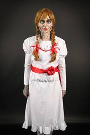 annabelle costume shop of horrors costumery annabelle doll costume