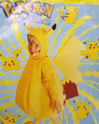 pikachu costume pikachu costume custom made sizes 2t 8