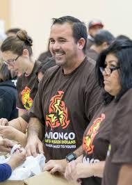 youth thanksgiving games morongo u0027s annual turkey giveaway provides over 200 000