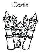 princess castle coloring twisty noodle