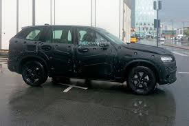 volvo jeep 2015 second generation volvo xc90 spied in detail getting ready to