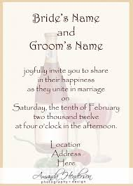 what to put on a wedding invitation amusing words to put on wedding invitations 89 with additional