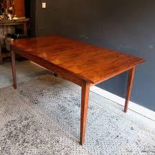 mid century rosewood dining table u2014 rag u0026 bone