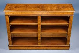 Antique Looking Bookshelves by Antique Style Walnut Double Open Bookcase For Sale Antiques Com