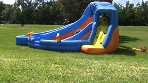best inflatable water slides backyard the best inflatable water