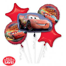 helium balloon delivery in selangor happy birthday cars balloon bouquet 5pc from category birthday