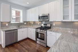 backsplashes for white kitchens backsplash subway tile white cabinets the home redesign chic