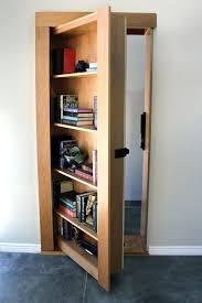 3 Shelf Bookcase With Doors Secret Bookcase Door Secure Order Today