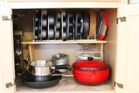 kitchen cupboard storage pans 10 ways to organize baking pans organization junkie