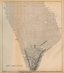 New York Gang Map by Documents For The Study Of American History Us History Amdocs