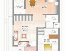 duplex house plans 20 x 40 modern hd
