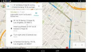 Navigation Map Android Voice Commands Maps And Navigation On A Google Nexus Wi Fi