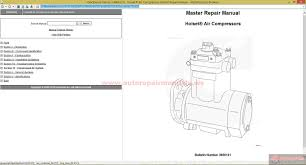 cummins holset air compressors master repair manual auto repair