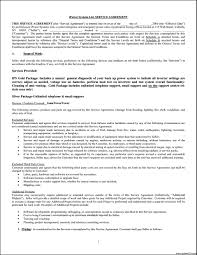 service agreement template template update234 com template