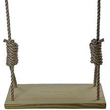 deluxe 22 4 wooden rope tree swing