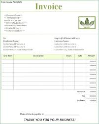 ms word templates for invoices word invoice template