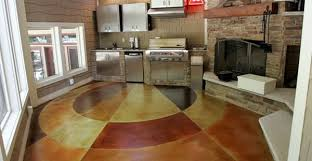 concrete flooring finishing styles colors and options the