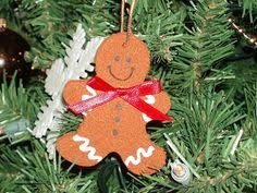 angelic gingerbread cinnamon ornament by gingerbreadpeddler