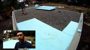 radiant pex tubing slab installation 14 my garage build hd