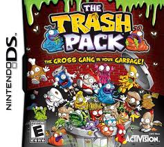 trash pack nintendo ds video games museum