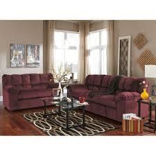 Maroon Living Room Furniture - julson burgundy living room set signature design by ashley