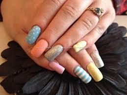 eye candy nails u0026 training acrylic nails with pastel coloured