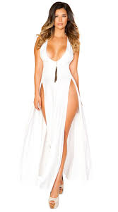 maxi dresses white maxi dress high cut maxi dress yandy