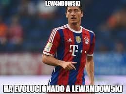 Lewandowski Memes - los memes de los 5 goles de lewandowski fox sports