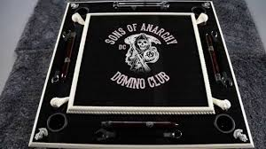 Sons Of Anarchy Meeting Table Sons Of Anarchy Domino Club Custom Domino Table