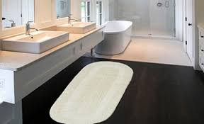 Reversible Cotton Bath Rugs Strikingly Idea Double Vanity Bath Rug Delightful Decoration White