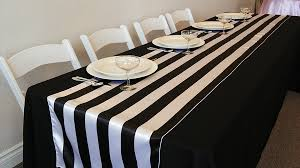 table runner rentals table runners lake party rentals