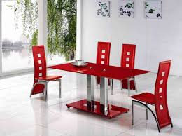 tables lovely ikea dining table glass top dining table on red