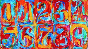 waitsfield elementary art color wheel letters and numbers