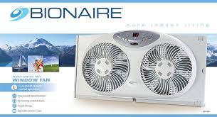 electrically reversible twin window fan bionaire twin reversible airflow window fan with remote control