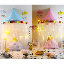 Playhouse Curtains Play Tent Canopy Bed Curtains Indoor Pink Playhouse Perfect Gift
