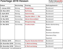 Kalender 2018 Mit Feiertagen Saarland Feiertage Hessen 2017 2018 2019 Mit Druckvorlagen