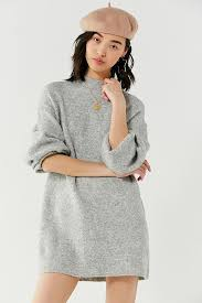 sweater dress uo mock neck sweater dress outfitters