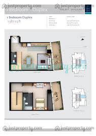One Bedroom Duplex West Wharf Floor Plans Justproperty Com